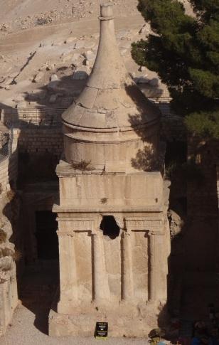The Mystery Tomb in Jerusalem.