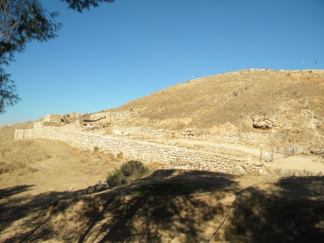 The gates to the city of Lachish