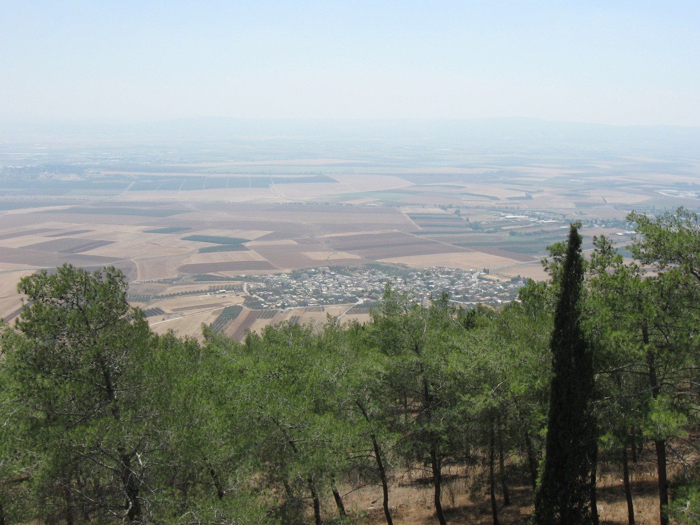 The village of Sulam viewed from the Hill of Moreh