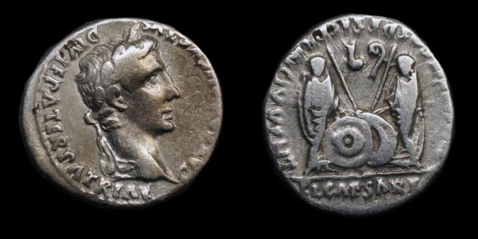 Denarius of Augustus Caesar