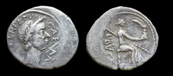 Julius Caesar Denarius