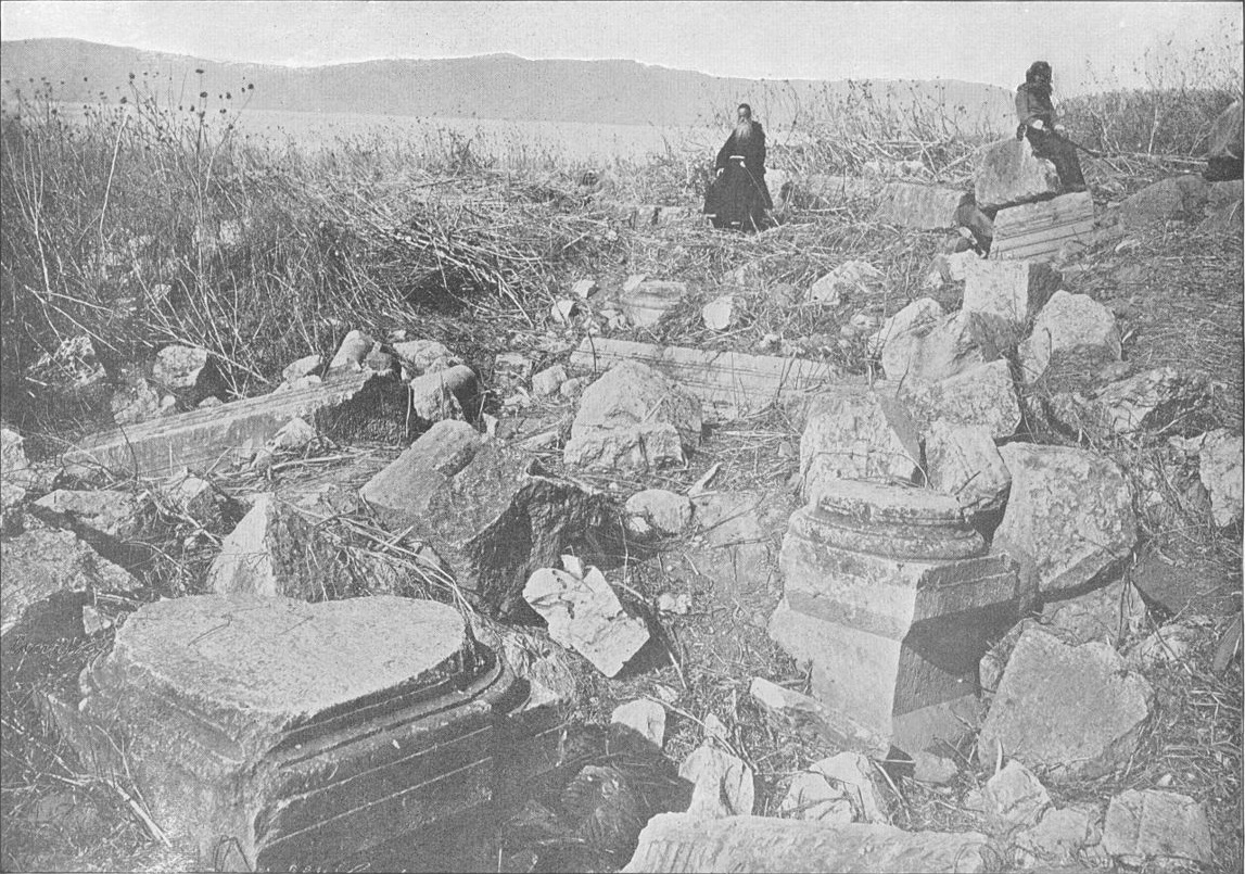 Site of Capernaum in 1894