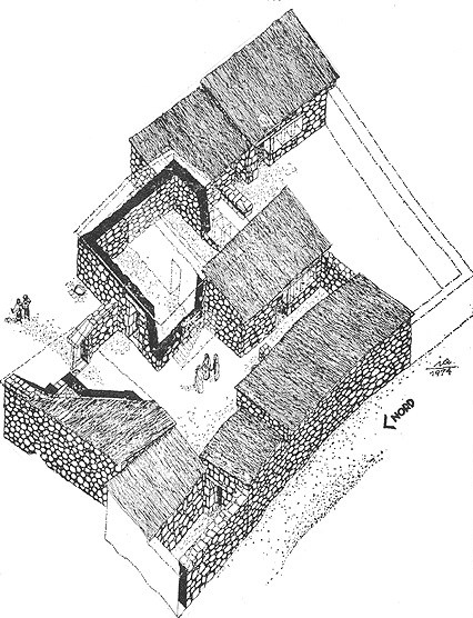 First Century Capernaum Home