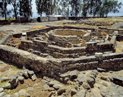 Octagonal Church in Capernaum